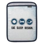 Coma el diseño del sueño mangas de iPad