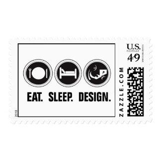 Coma el diseño del sueño sello
