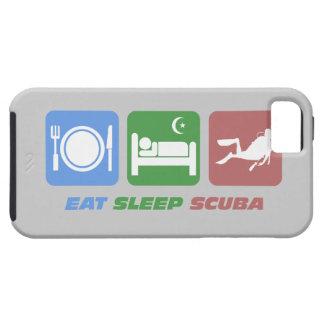 coma el equipo de submarinismo del sueño iPhone 5 Case-Mate protectores