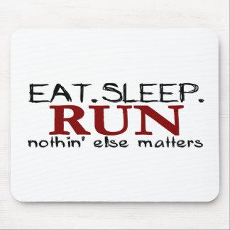 Coma el funcionamiento del sueño mousepads
