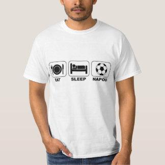 Coma el fútbol de Napoli del sueño Polera