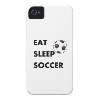 Coma el fútbol del sueño Case-Mate iPhone 4 carcasas