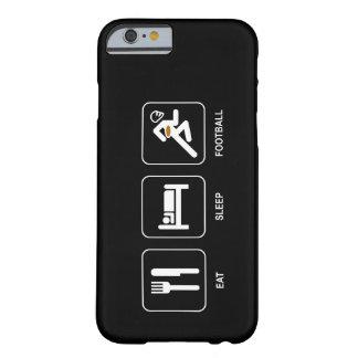 Coma el fútbol del sueño funda para iPhone 6 barely there