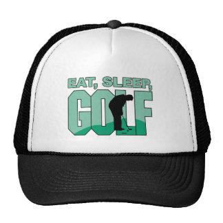 Coma el golf del sueño gorro de camionero