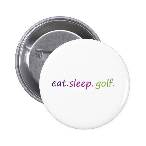 coma el golf del sueño pins