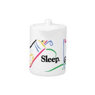 Coma el golf del sueño