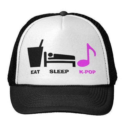 Coma el gorra de Kpop del sueño