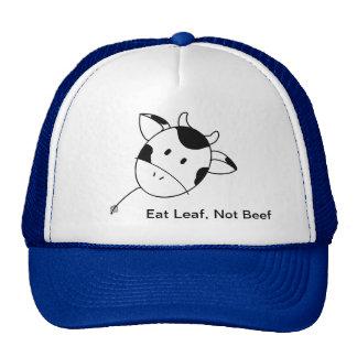 Coma el gorra del camionero de la carne de vaca de