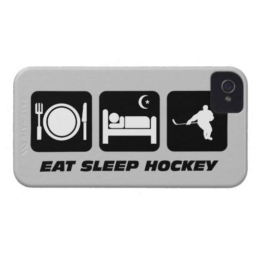 coma el hockey del sueño iPhone 4 Case-Mate protectores