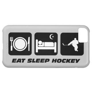 coma el hockey del sueño funda para iPhone 5C
