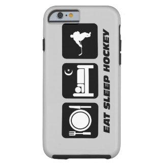 coma el hockey del sueño funda para iPhone 6 tough