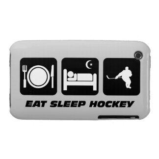 coma el hockey del sueño iPhone 3 Case-Mate funda