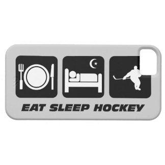 coma el hockey del sueño iPhone 5 funda