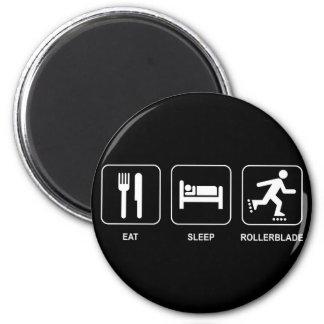 Coma el imán del Rollerblade del sueño
