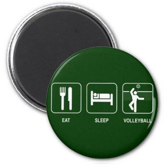Coma el imán del voleibol del sueño