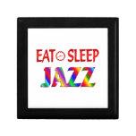 Coma el jazz del sueño caja de joyas
