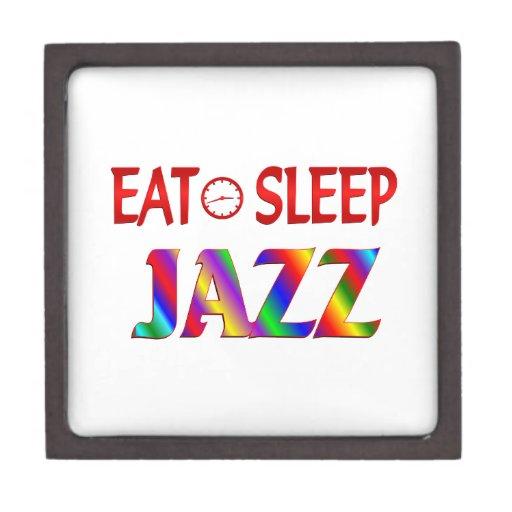 Coma el jazz del sueño cajas de recuerdo de calidad
