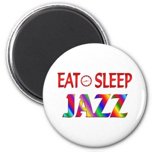 Coma el jazz del sueño imán redondo 5 cm
