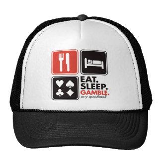 Coma el juego del sueño gorro