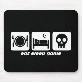 Coma el juego del sueño tapete de ratones