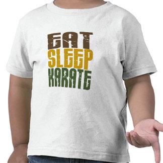 Coma el karate 1 del sueño camiseta
