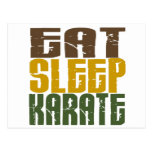 Coma el karate 1 del sueño postal