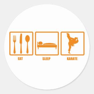 Coma el karate del sueño etiquetas