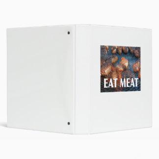 """Coma el libro de la receta de la carne carpeta 1"""""""