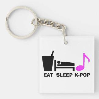 Coma el llavero de Kpop del sueño (el color dual)
