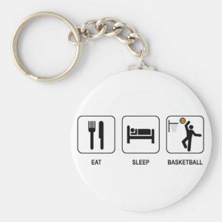 Coma el llavero del baloncesto del sueño