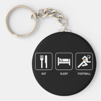 Coma el llavero del fútbol del sueño