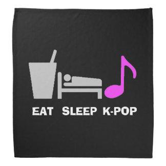 Coma el pañuelo de Kpop del sueño Bandanas