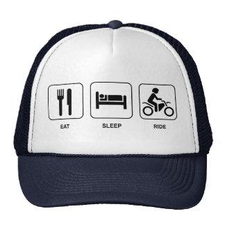 Coma el paseo del sueño gorro de camionero