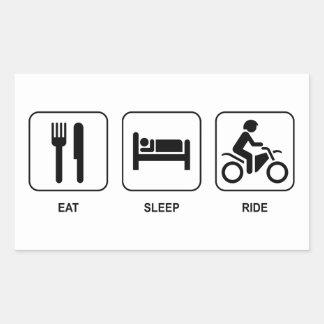 Coma el paseo del sueño etiqueta