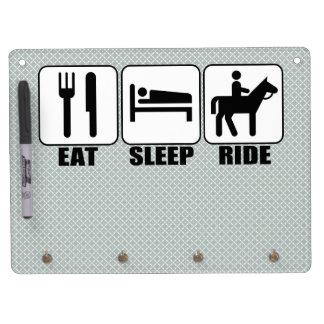 Coma el paseo del sueño un Equestrian Whiteboard Tableros Blancos