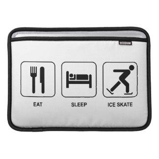 Coma el patín de hielo del sueño funda  MacBook