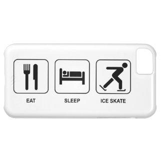 Coma el patín de hielo del sueño funda para iPhone 5C