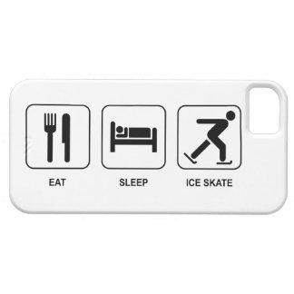 Coma el patín de hielo del sueño iPhone 5 fundas