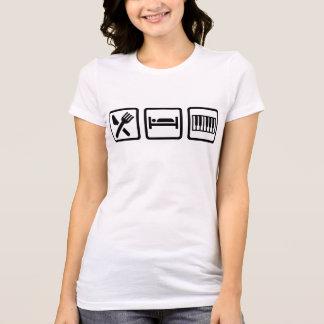 Coma el piano del sueño tee shirts