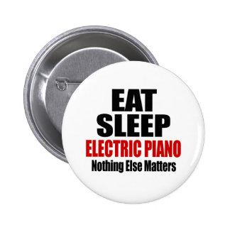 COMA EL PIANO ELÉCTRICO DEL SUEÑO PIN REDONDO 5 CM