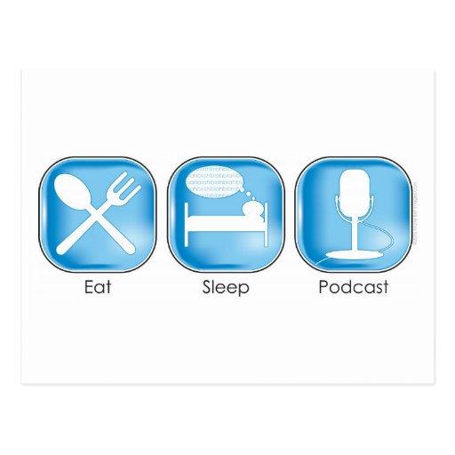 Coma el podcast del sueño postal