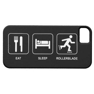 Coma el Rollerblade del sueño iPhone 5 Carcasas