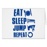 Coma el salto del sueño felicitaciones