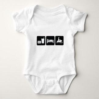 Coma el Snowmobile del sueño T Shirts