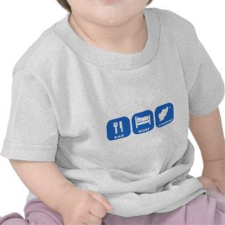 Coma el sueño Afganistán Camisetas