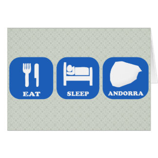 Coma el sueño Andorra Tarjeta