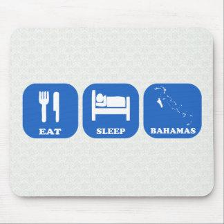 Coma el sueño Bahamas Tapete De Ratones