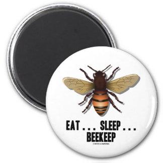 Coma… el sueño… Beekeep la abeja Iman De Frigorífico