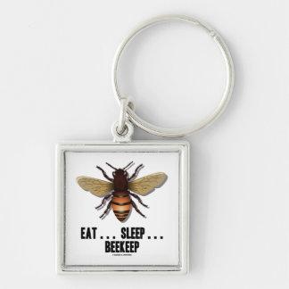Coma… el sueño… Beekeep la abeja Llaveros Personalizados