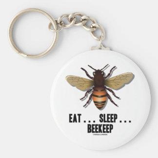 Coma… el sueño… Beekeep la abeja Llaveros